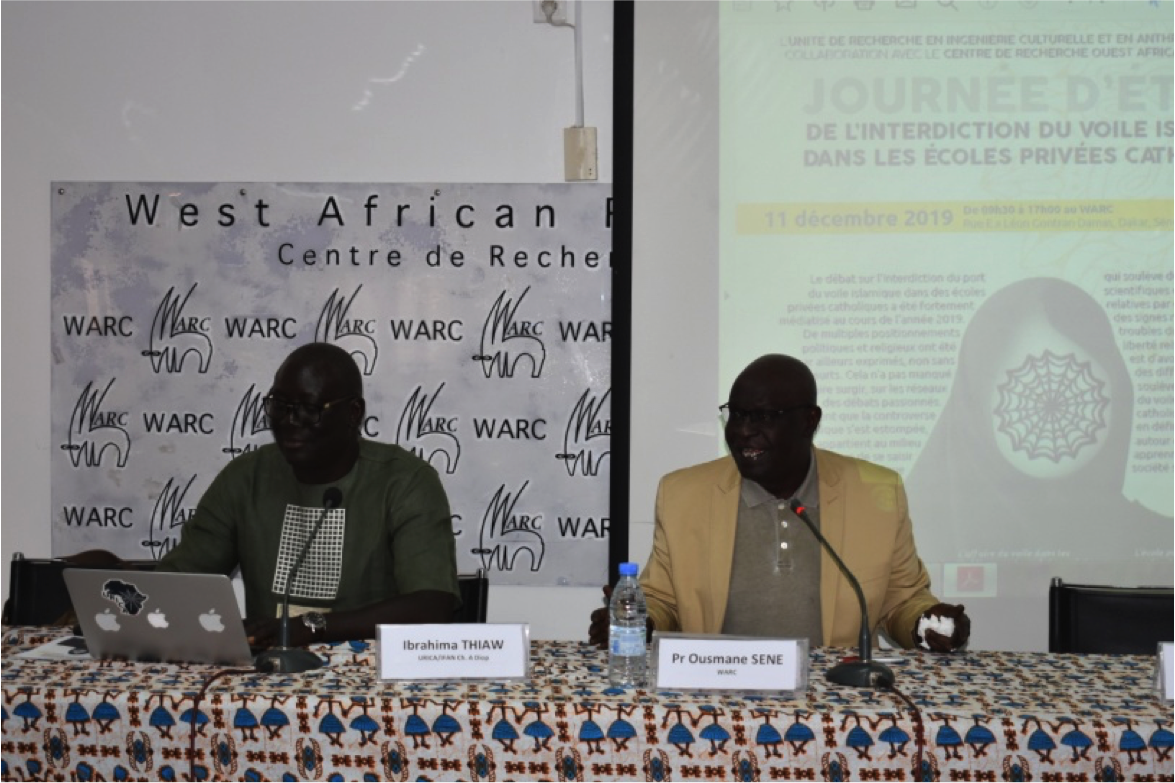 URICA/WARC Seminar : The Prohibition of the Islamic Veil in Catholic Private Schools in Senegal